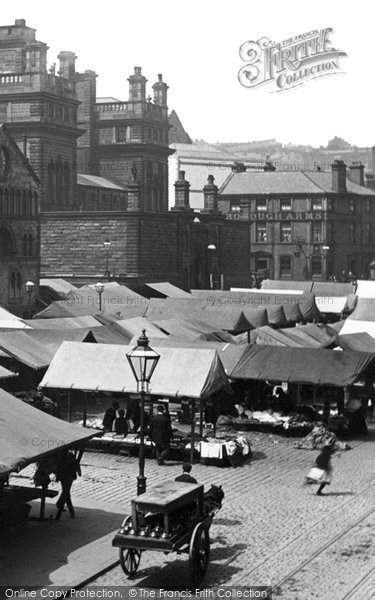 Blackburn, Market 1894