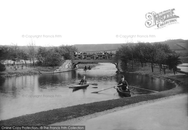 Blackburn, Queen's Park Lake 1899