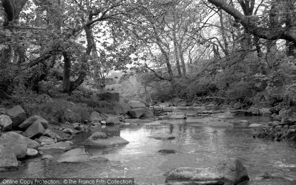 Blackburn, River Almond c.1960