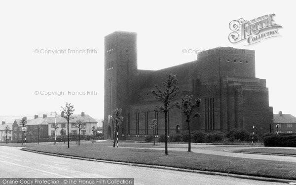 Blackburn, St Gabriel's Church, Brownhill c.1955