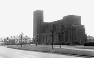 Blackburn, St Gabriel's Church, Brownhill c.1955