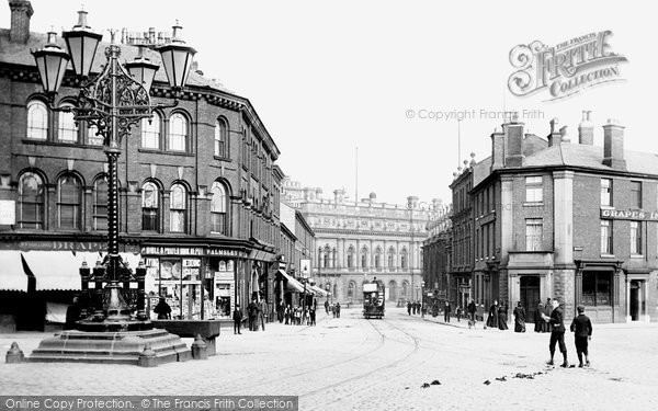 Blackburn, Sudell Cross 1895