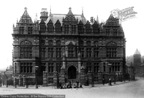 Blackburn, Technical School 1894