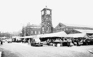 Blackburn, The Market c.1960
