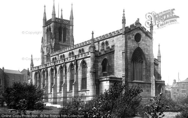 Blackburn, The Parish Church 1894