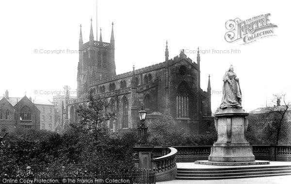 Blackburn, The Parish Church 1923
