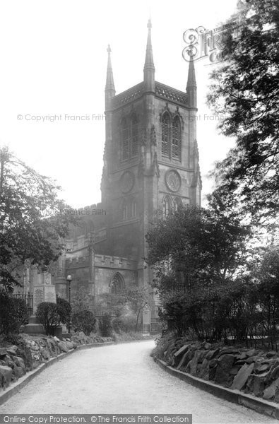 Blackburn, The Parish Church 1923