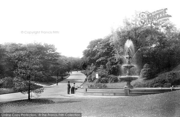 Blackburn, The Park Fountain 1894
