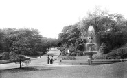 Blackburn, The Park Fountain 1894