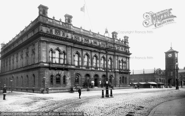 Blackburn, Town Hall 1899