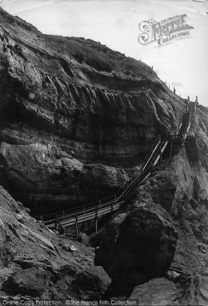 Blackgang Chine, c.1883