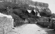Blackgang Chine, House, The Undercliff 1896