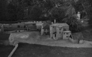 Blackgang Chine, The Model Village c.1955