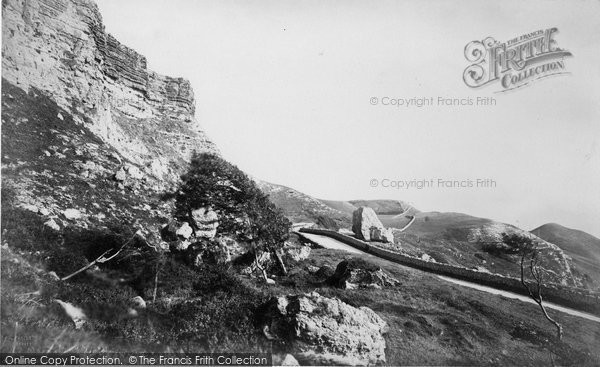 Blackgang Chine, The Undercliff c.1871