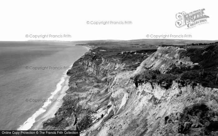 Blackgang, The Cliffs c.1960