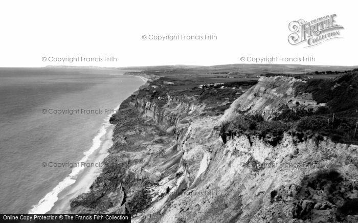 Blackgang, The Cliffs c.1960