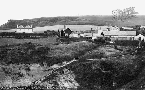 Blackgang, View From The Observatory c.1883