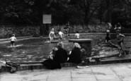 Blackhall Colliery, Paddling Children c.1965
