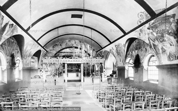 Blackheath, St Martin's Church Interior 1921