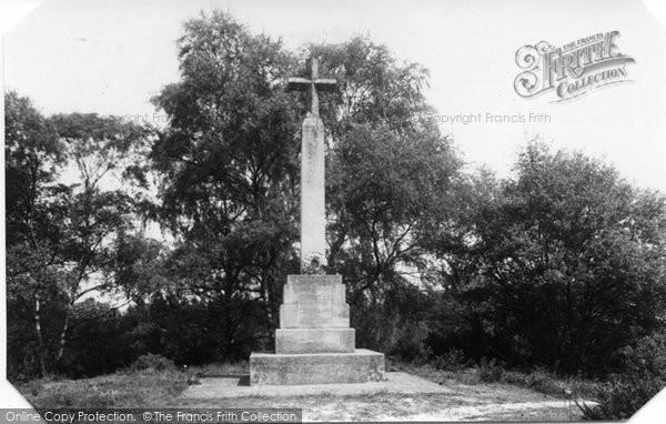 Blackheath, The Memorial c.1950