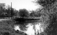 Blackmore, The Pond c.1960
