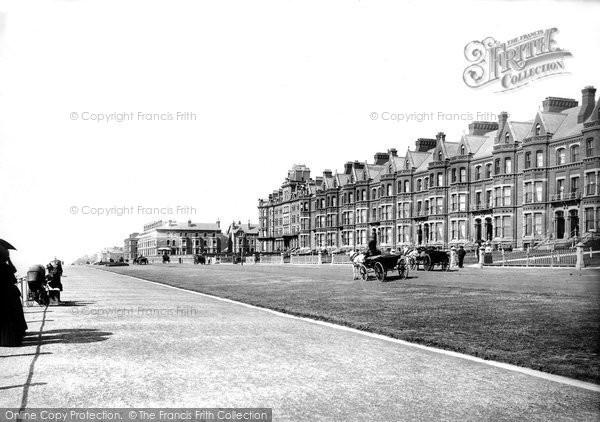 Blackpool, Claremont Park Terrace 1890