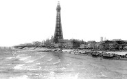 Blackpool, From Central Pier 1895
