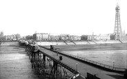 Blackpool, From North Pavilion 1894