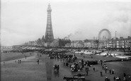 Blackpool, From The Central Pier 1896