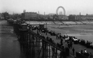 Blackpool, From The North Pier 1896