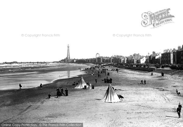 Blackpool, From Victoria Pier 1896