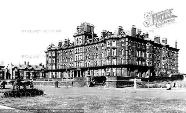 Blackpool, Imperial Hydropathic Establishment 1890