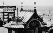 Blackpool, Kiosk On The South Jetty 1890