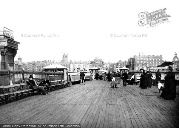 Blackpool, North Pier 1890