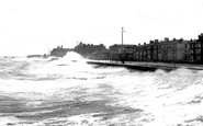 Blackpool, Parade From Pier, North 1891