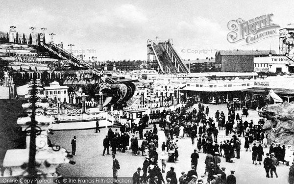 Blackpool, Pleasure Beach c.1935
