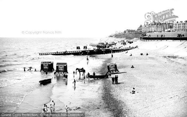 Blackpool, Sands 1890