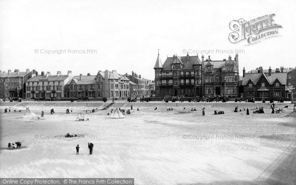 Blackpool, South Shore From Victoria Pier 1896