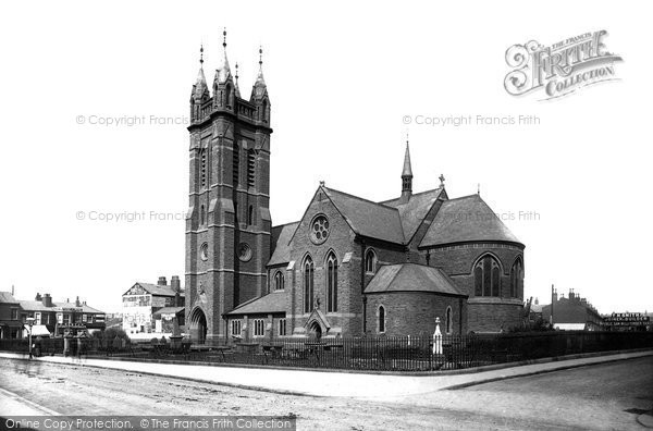 Photo of Blackpool, St John's Church 1890