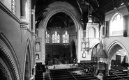 Blackpool, St John's Church Interior 1890