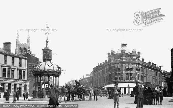 Blackpool, Talbot Square 1890