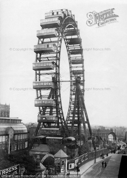 Blackpool, The Big Wheel 1896
