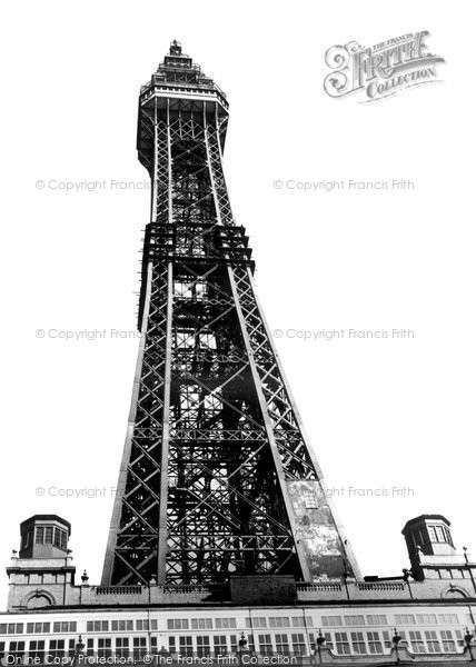 Blackpool, The Tower c.1955