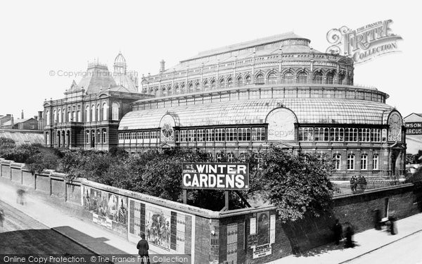 Blackpool, The Winter Gardens 1890