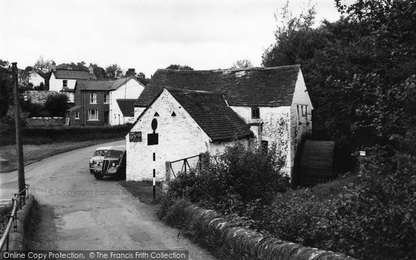Blackwood, Old Mill, Gelli Croes 1966