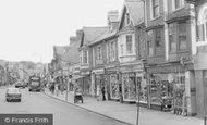 Blackwood, Shops On High Street c.1960