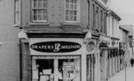Blackwood, The Draper's Shop, High Street c.1965