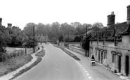 Bladon, Grove Road c.1960