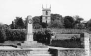 Bladon, Memorial And Church c.1965