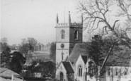 Bladon, St Martin's Church And Blenheim Palace c.1965
